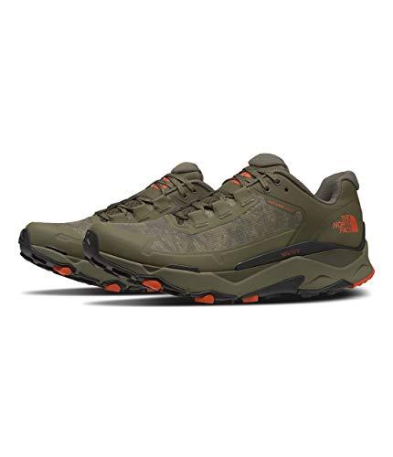 The North Face Vectiv Exploris Futurelight - Tenis de correr para hombre, verde (Estampado militar de camuflaje de nube de oliva/verde topo nuevo), 41 EU