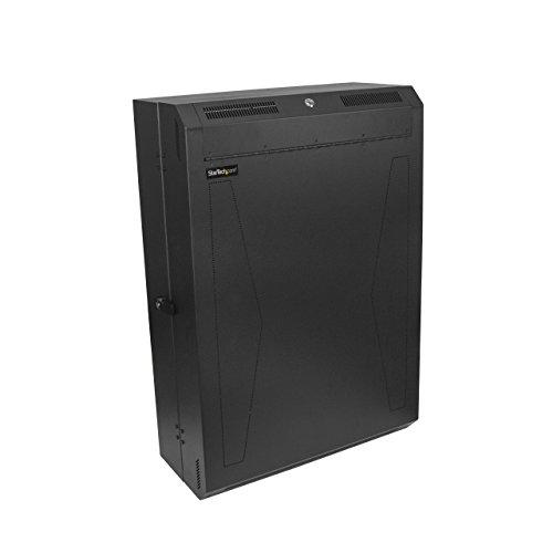 StarTech.com RK630WALVS - Armario Rack 6U Vertical de servidores para Montaje en Pared - con Profundidad de 30 Pulgadas - Rack de Pared, Color Negro