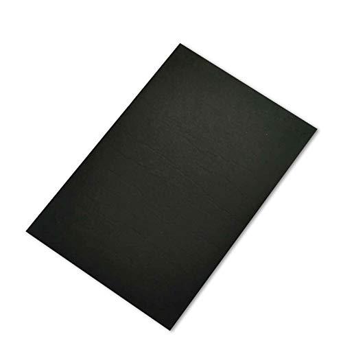 Alfombras para muebles, mesas y sillas, aislamiento acústico antideslizante, protección antivibración, suelo de madera, material de fieltro, 30 x 20 x 0,5 cm, color negro