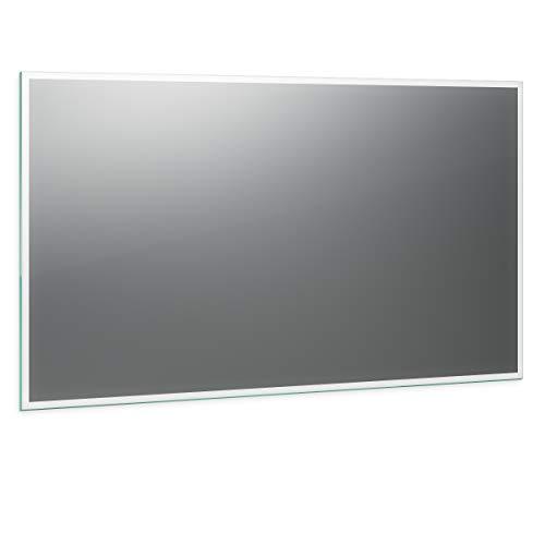 Spiegel ID Siena Design: LED BADSPIEGEL mit Beleuchtung - nach Wunschmaß - Made in Germany - Auswahl: (Breite) 140 cm x (Höhe) 70 cm - Modell: 2201002