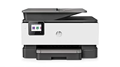 HP OfficeJet Pro 9010 All-in-One Wireless Printer, Instant Ink Ready, Print, Scan, Copy from Your Phone and Voice Activated (Works with Google Assistant), Gray