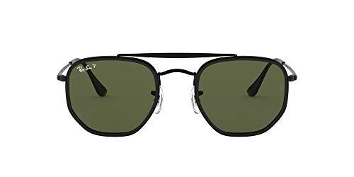 Ray-Ban 0RB3648M Gafas de Sol, Black, 52 Unisex