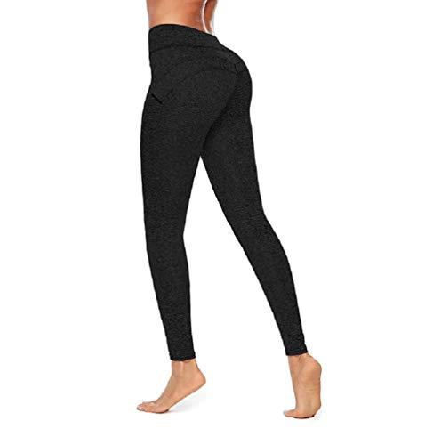 Ducomi MYA Leggings Damen Push Up - Abnehmen High Waist am Gesäß für Schlanke Silhouette Sensationelle Kurven - Praktikabilität und Sinnlichkeit für Yoga, Pilates und Fitness (Dunkelgrau, S)