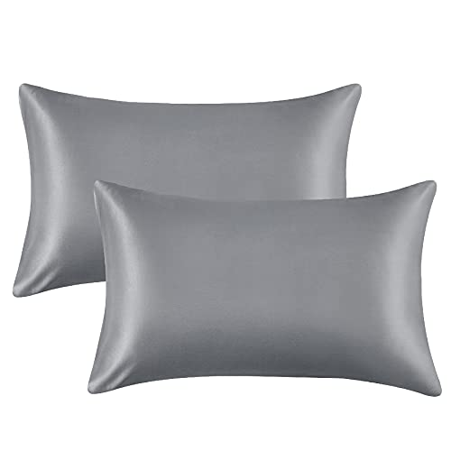 2-Pack Bedsure Satin Pillowcases Queen 20x30-inch Only $4.99 (Retail $12.99)