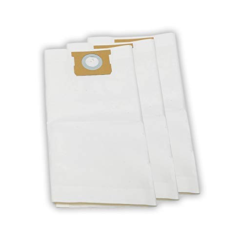 Vacmaster Standard Dust Bag 12-16 Gallon Genuine Vacmaster Part 3pcs per Pack for Replacement