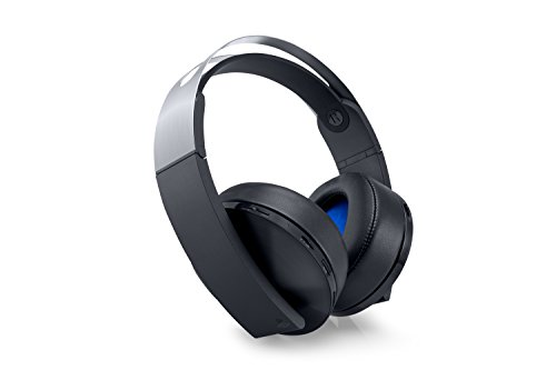Sony PlayStation 4: Platinum Wireless Headset - Platinum