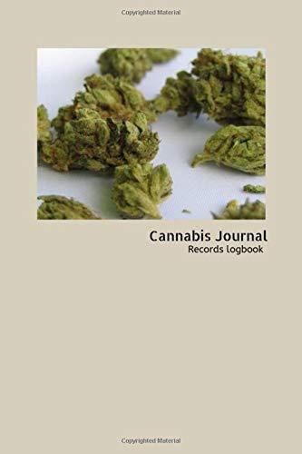 Cannabis Journal: Marijuana Logbook for keep reviews and record Notebook