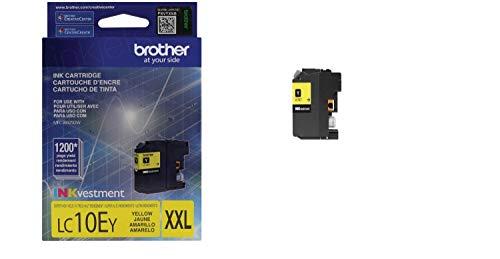 Brother LC10EY LC10EY INKvestment - Tinta de alto rendimiento (tinta de gran rendimiento), color amarillo