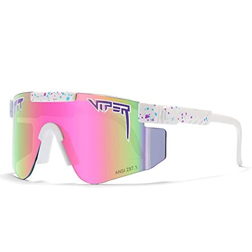 Gafas de sol C42 Ciclismo Z87 lente TR marco grande PC integrado a prueba de viento gafas para ciclismo, béisbol, pesca, esquí correr, golf