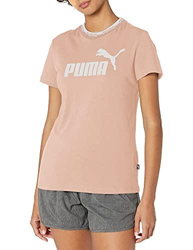 PUMA Damen Amplified Graphic Tee T-Shirt, Cloud Pink, X-Groß