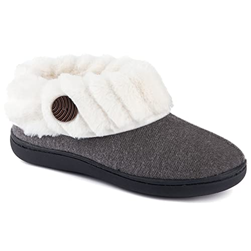 Wishcotton Women's Cute Comfy Fuzzy Felt Memory Foam Slippers Indoor...