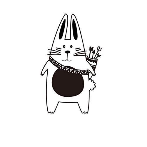 ZZFGXX Pegatinas De Pared,Pegatina De Pared De Animales Tribales De Dibujos Animados De Gato Con Flecha 43x70cm Adecuado Para Pegatinas De Pared De DecoracióN Del Hogar De Dormitorio Y Sala De Estar