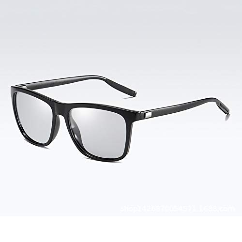 EYEphd Gafas de Lectura fotocromáticas al Aire Libre de los Hombres, 1,56 Gafas de Sol de Lentes de Resina asférica /UV400 Ampliación +1.0 a +3.0,04,+2.25