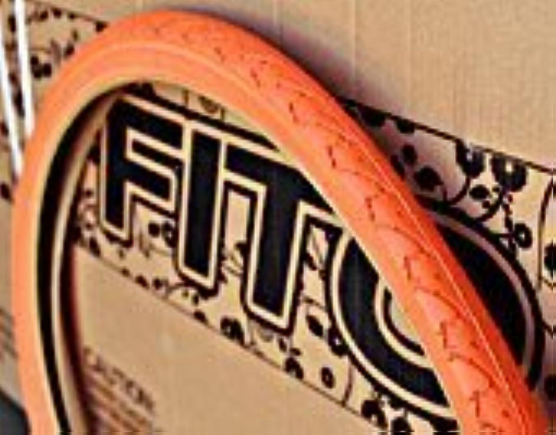 Duro gemustert Laufflche Fahrradbereifung, 66x 3,8cm–Orange, für Beach Cruiser Bikes und mountain Bikes von Duro