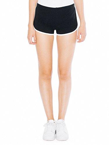 American Apparel Damen Laufshorts Interlock - Mehrfarbig - Klein