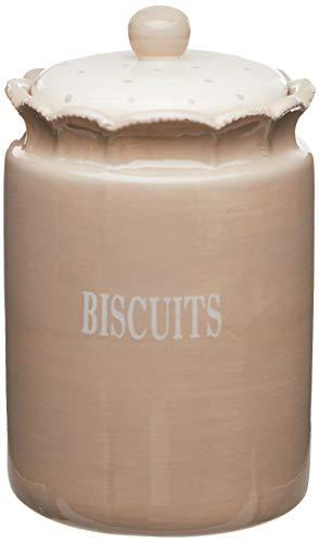 Better Best 2891311 & Boîte de Biscuits céramique Rond Grand Beige