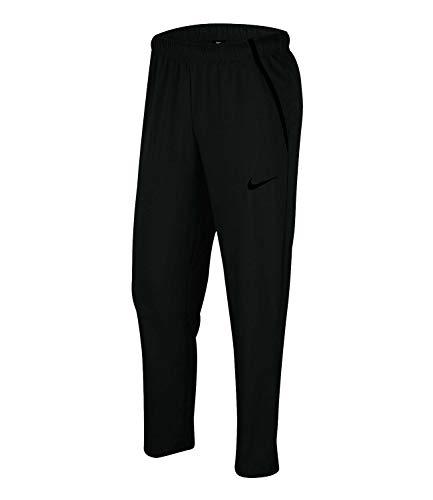 Nike Herren Hose Dry Team Woven, Black/Black, L, CU4957-010
