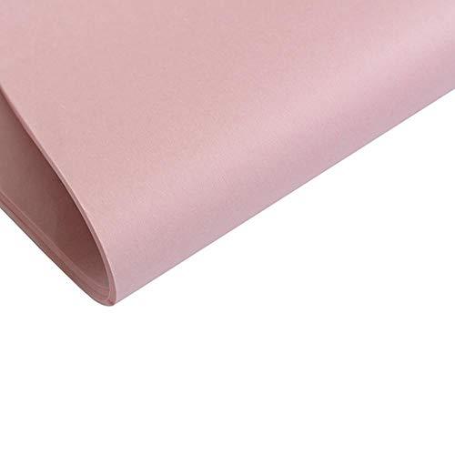 40st Tissue Paper 75 * 52CM Craft Paper Bloemen inpakpapier Geschenkverpakkingspapier Woondecoratie Feestelijke feestartikelen, roze