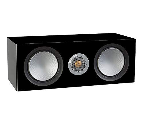 Monitor Audio Silver C150 Center-Lautsprecher, glänzend, Schwarz
