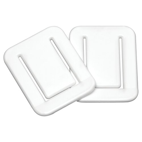 Sealskin douchegordijn, wit, 3 x 5,3 x 6,8 cm