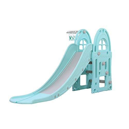 Toboggan XL - Azul - tobogán Infantil para Jardin Parques e Interiores - Columpio y Juguete para jardín Ideal para niños y niñas