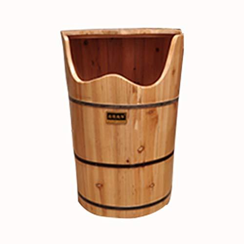 For Sale! Foot Massagers Foot Bath Foot Bath Barrel Household Wooden Fumigation Barrel Heated Foot Bath Barrel Barrel High-deep Barrel Over-The-Knee steam Barrel Massage Tools