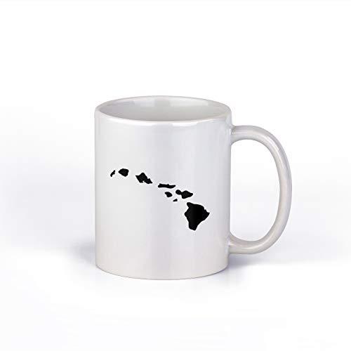 Hawai'I Islands Keramik-Kaffeetasse, Hawaiianische Kaffeetasse, 325 ml, M152