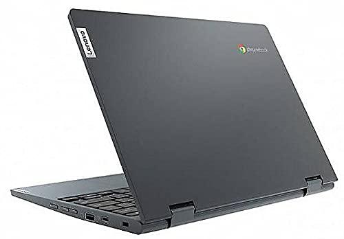 Lenovo (11,6 Zoll HD+) ChromeBook (1.2kg), großer 10h Akku, Quad Core CPU 2.10 GHz, 4GB RAM, 64GB eMMC SSD, Power VR GX6250, Webcam, BT, USB 3.0, WLAN, ChromeOS Laptop #6758 - 5
