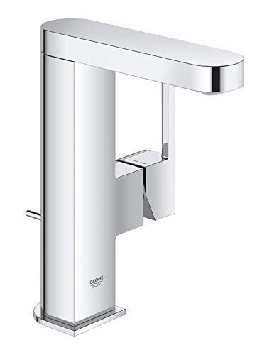 GROHE Plus   Badarmatur- Einhand-Waschtischbatterie   mit Zugstangen- Ablaufgarnitur   chrom   23871003