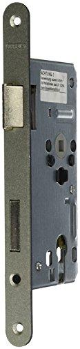 ABUS Tür-Einsteckschloss Profilzylinder TKZ30 S L silber für DIN-links Türen 20807