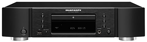 Marantz CD6006 HiFi CD player Negro - Unidad de CD (110 dB, 0,002%, 100 dB, AAC,MP3,WMA, 2-20000 Hz, SACD)