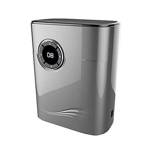 LJF Deshumidificador Doméstico Eléctrico Área Aplicable 5~20㎡ Purificador De Aire Silencioso Portátil (Color : Gray)