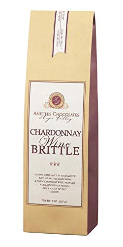 Chardonnay Wine Brittle, 8 ounce bag