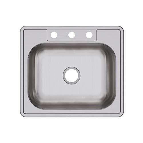 Rv Stainless Steel 3 Hole Drop in Kitchen Sink