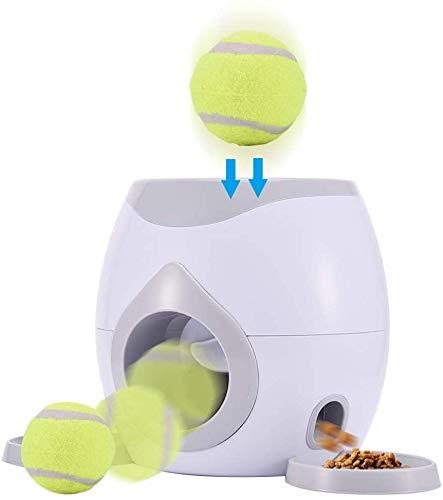 Willlly Juguetes Interactivos Para Mascotas Y Dueños Lanzador Chic Automático De Pelotas Para Perros Mascota Lanzador Interactivo De Pelotas De Tenis Para Perros Entrenamiento Para Mascotas Lanzador D