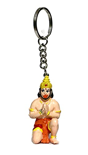 VRINDAVANBAZAAR.COM Lord Hanuman (Bajarangi) llavero