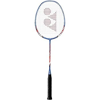 YONEX Nanoray Light 8i LCW Strung Badminton Racquet (Purple/Blue, G4, 75-79.9 Grams, 24 lbs)