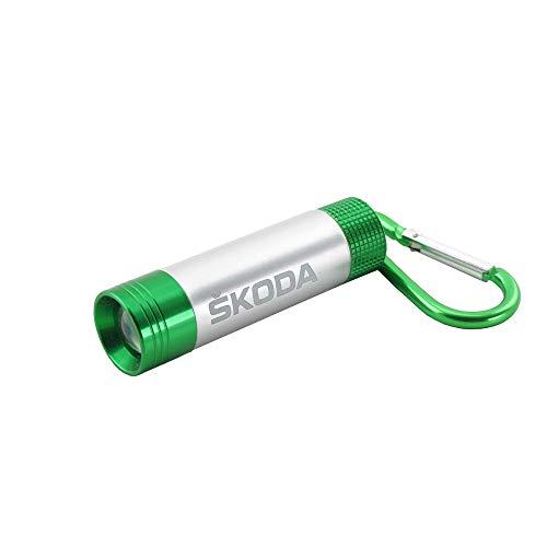 Skoda MVF03-087 Taschenlampe mit Leuchtschriftzug Taschenlicht Accessoires