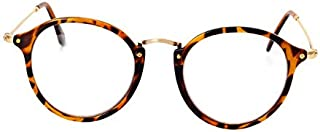 Fashion leopard print Cat Eye Glasses Frame Clear Lens UV400 Computer Eyeglasses
