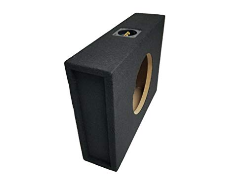 "Bass Rockers Shallow 10"" Single Subwoofer Box Sealed 10SME"