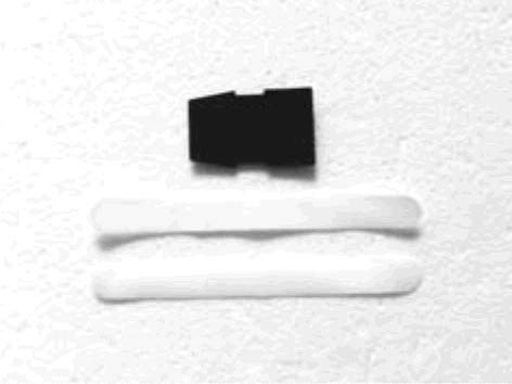 Juego de cintas de velcro para fijación de batería / LiPo.