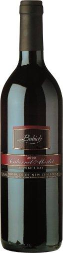Babich Wines Rotwein aus Neuseeland Merlot Cabernet 2015 (1 x 0,75 Liter)