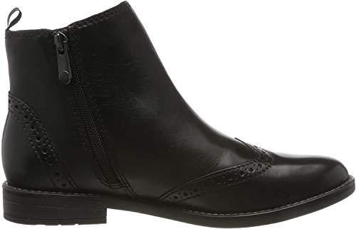 MARCO TOZZI Damen 2-2-25365-33 Chelsea Boots, Schwarz (Black Antic 002), 38 EU
