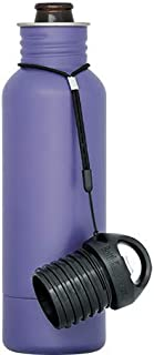 BottleKeeper - The Standard 2.0 - The Original Stainless Steel Bottle Holder and Insulator to Keep Your Beer Colder (Purple)