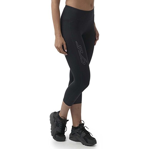 Sub Sports Womens Capri Compression Leggings Running 3/4 Three Quarter -S