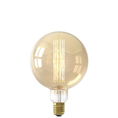 Calex Giant Megaglobe - Gold - LED lamp - Ø200mm - Dimbar - E40 Fassung - 11W 2100K 1100lm - Energieklasse A+