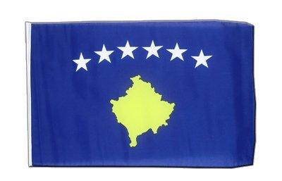 Kosovo Flagge, kosovarische Fahne 30 x 45 cm, MaxFlags®