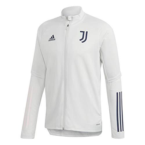 adidas Juventus FC Temporada 2020/21 JUVE TR JKT Chaqueta Entrenamiento, Unisex, griorb/Tinley, XS