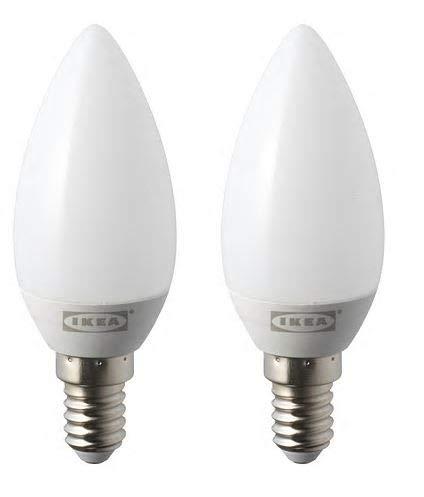 LED Chandelier Bulb (2 Pack) E14 200 Lm 2.2W