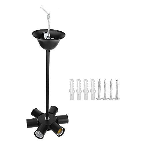 Weikeya Lámpara de araña, Accesorio de luz del Techo Internacional 220V con Hierro para Barra de Sala de Estar iluminación 220V